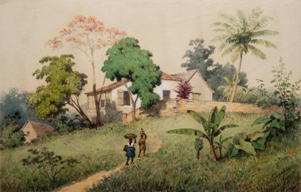Michel Jean Cazabon St Annes-Trinidad -