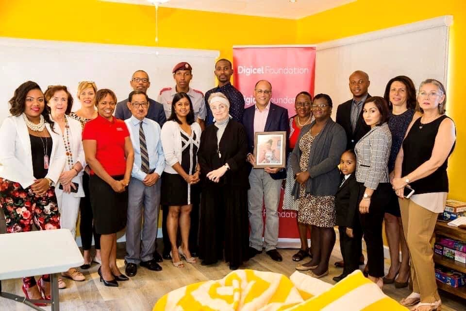 The opening of The Samantha Isaacs Learning Centre at The Shelter for Battered Women and Children in the 2019 phase one of renovations. -