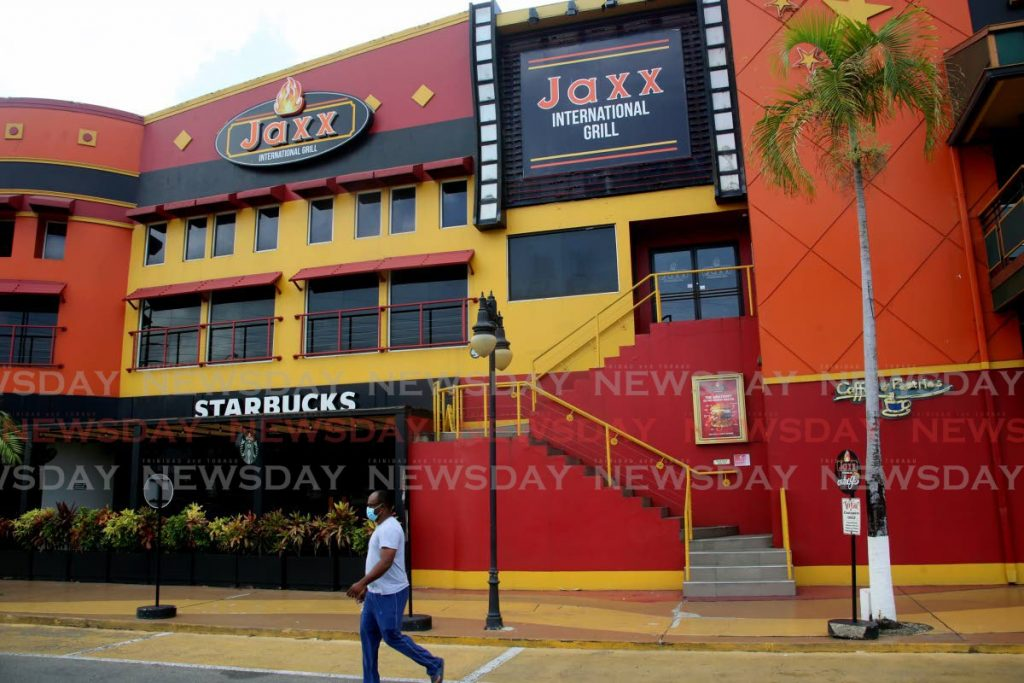 Jaxx Interntional Grill , Movietowne Port of Spain. - SUREASH CHOLAI