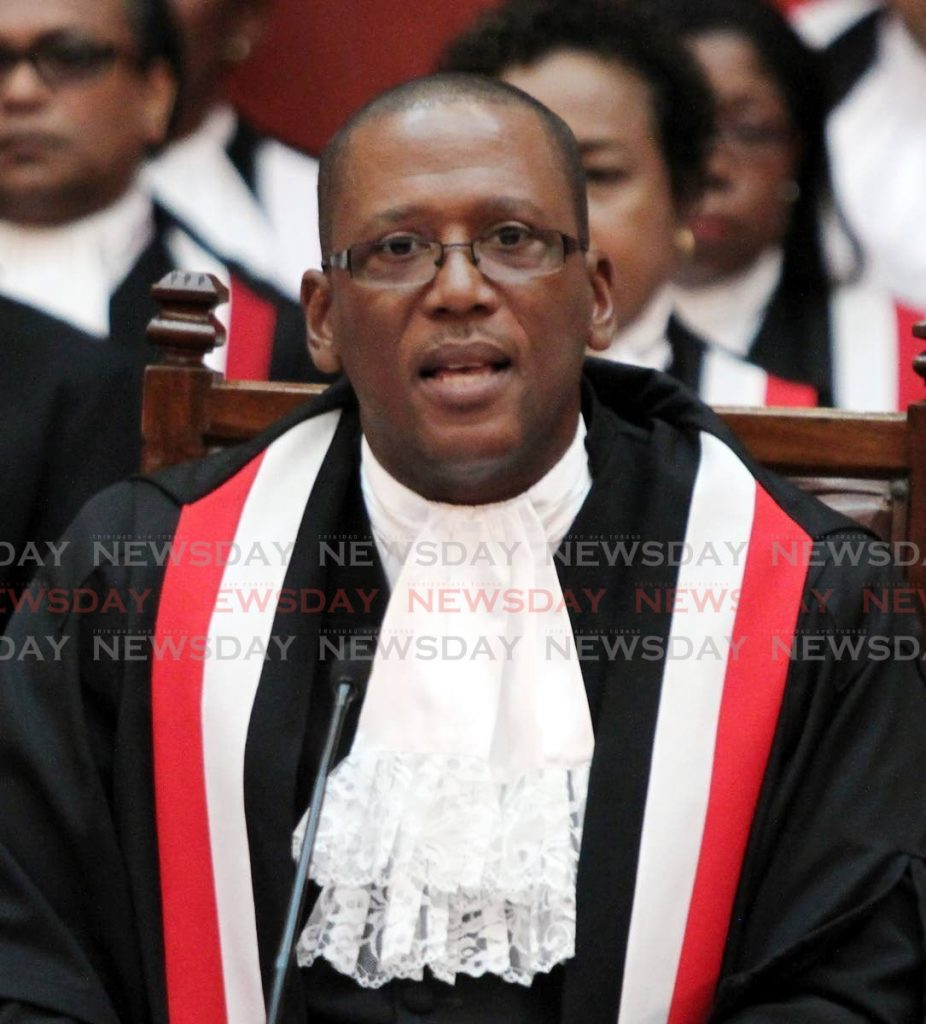 Chief Justice Ivor Archie. - FILE PHOTO/ROGER JACOB