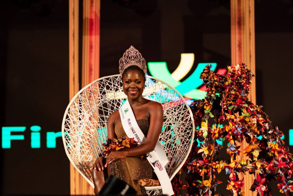 NEW QUEEN: Karicia Morrison was crowned Miss Tobago Heritage Personality 2020 on Saturday. - Tobago Festivals Facebook