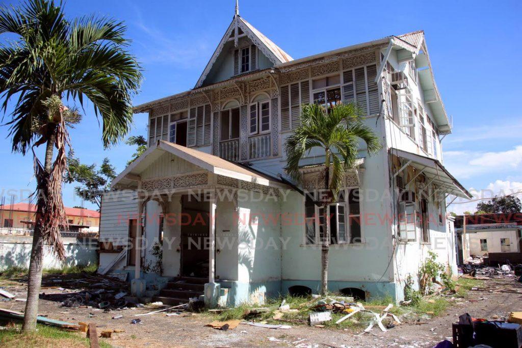 The old gingerbread house at Jerningham Avenue, Belmont. - SUREASH CHOLAI