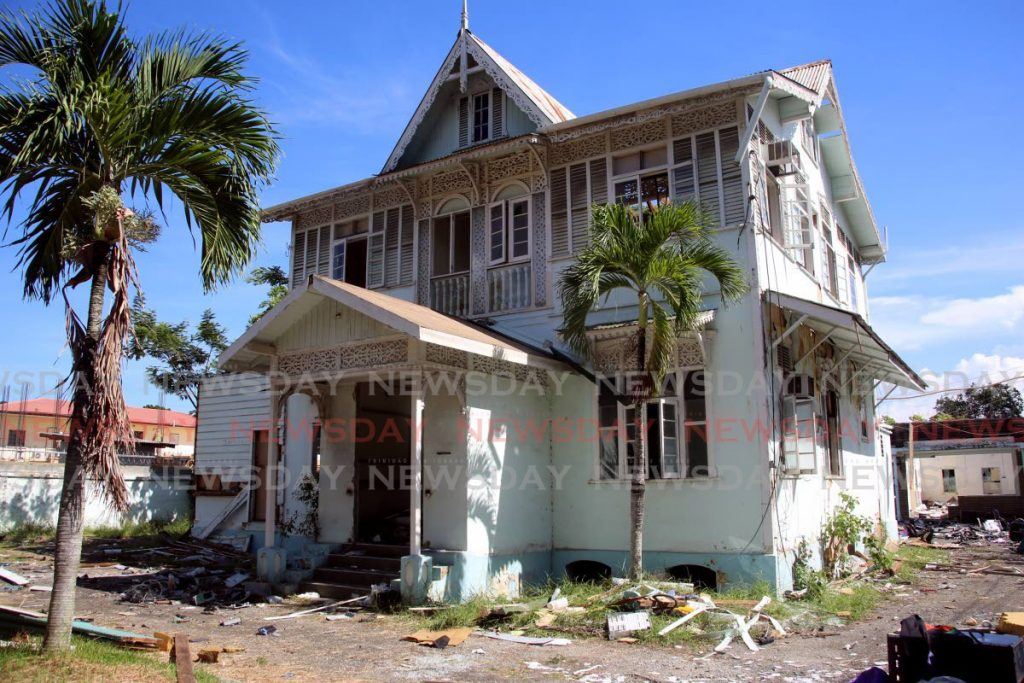 SAVE IT: The National Trust wants this vandalised gingerbread house on Jerningham Avenuee saved because of its historic value. Planned demolition of the building has since been stopped.  - SUREASH CHOLAI