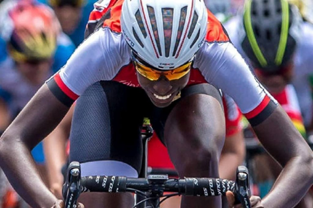 TT's Teniel Campbell gears up for national duty at Thursday's Road World Championships in Imola, Italy.  -