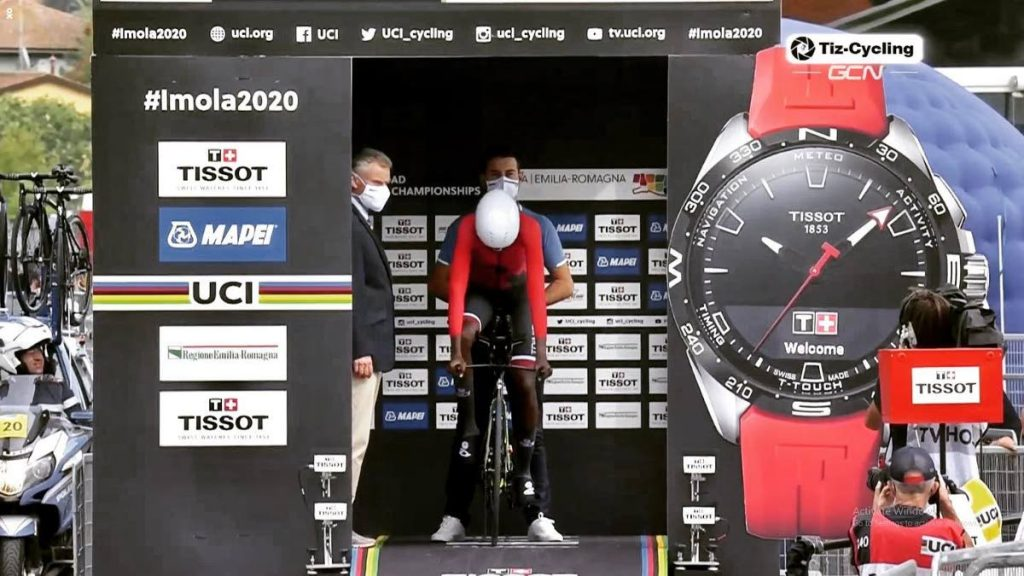 TT's Teniel Campbell competes in the Women's Individual Time Trial at the Road World Championships in Italy on Thursday.  - COURTESY TENIEL CAMPBELL