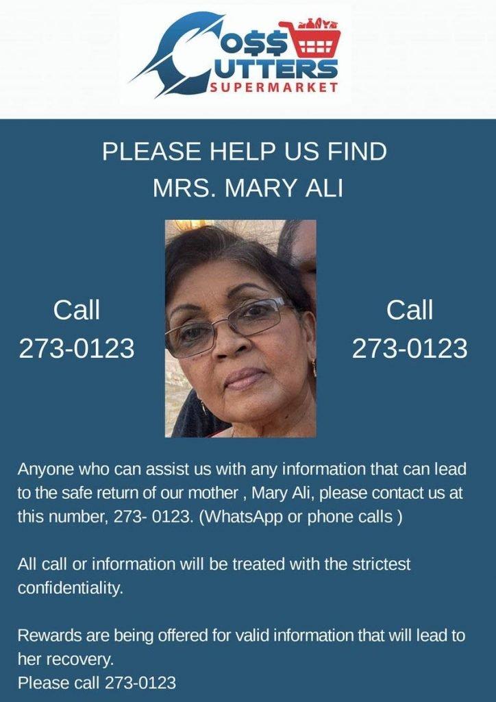 Mary Ali. -