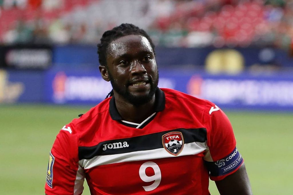 Former TT striker Kenwyne Jones. -