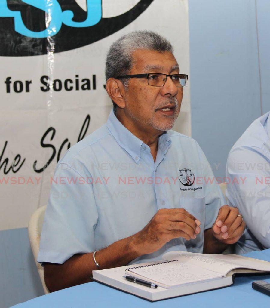 MSJ political leader David Abdulah. -