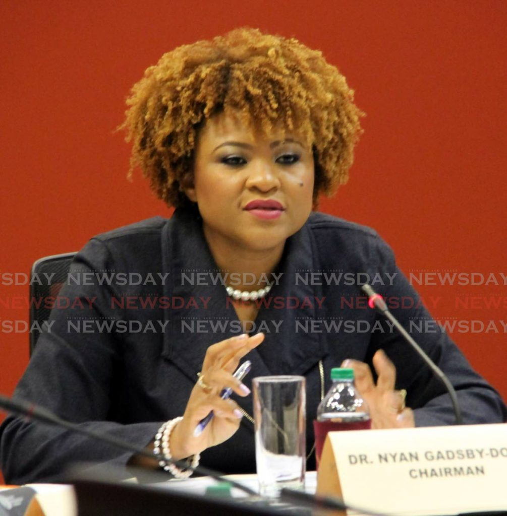 Education Minister Dr Nyan Gadsby-Dolly. FILE PHOTO  -