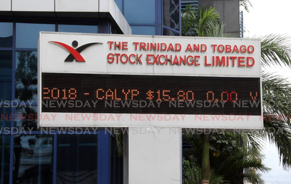 TTSE electronic sign board at its Nicholas Towers, Port of Spain location. The TTSE on Wednesday launched its online trading platform TOP. -