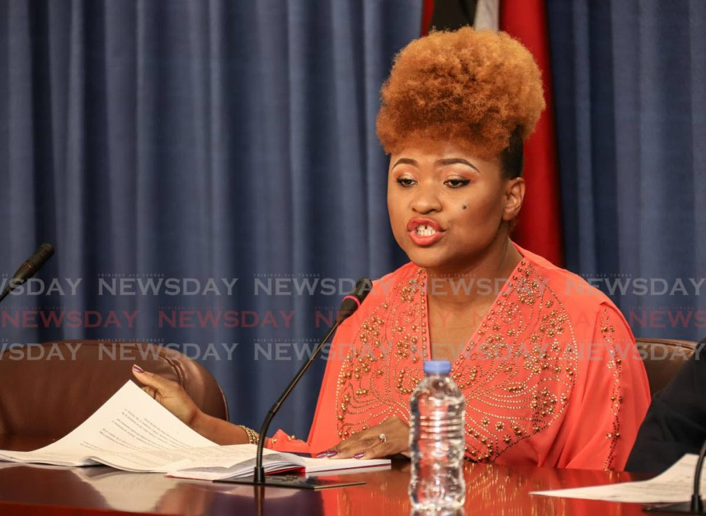 Minister of Education Dr Nyan Gadsby-Dolly.