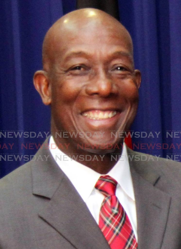Prime Minister Dr Keith Rowley - CHOLAI