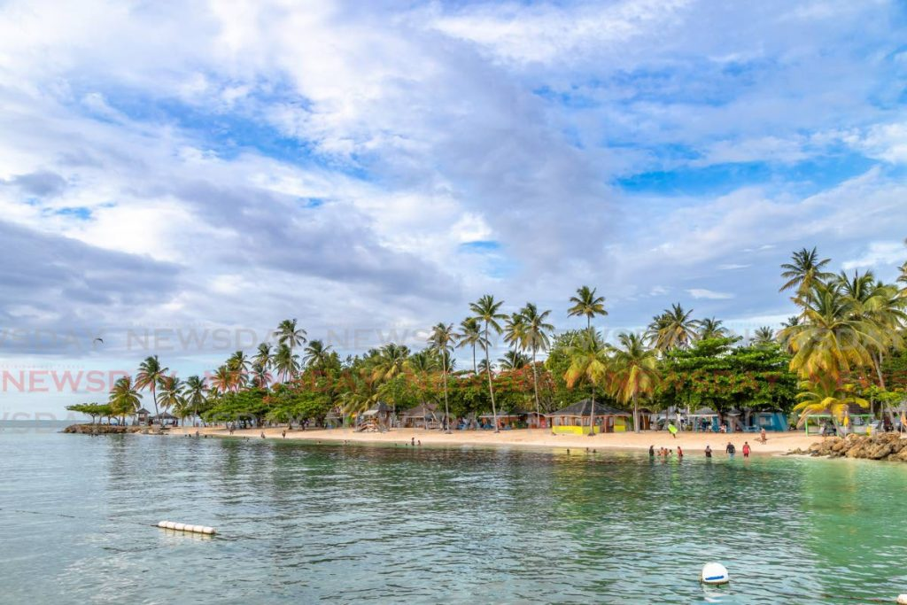 A view of Pigeon Point, Tobago.  JEFF MAYERS -