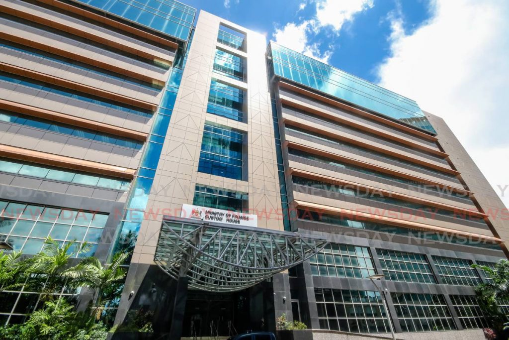The Customs and Excise Division head office at the government campus in Port of Spain. PHOTO BY JEFF K MAYERS -