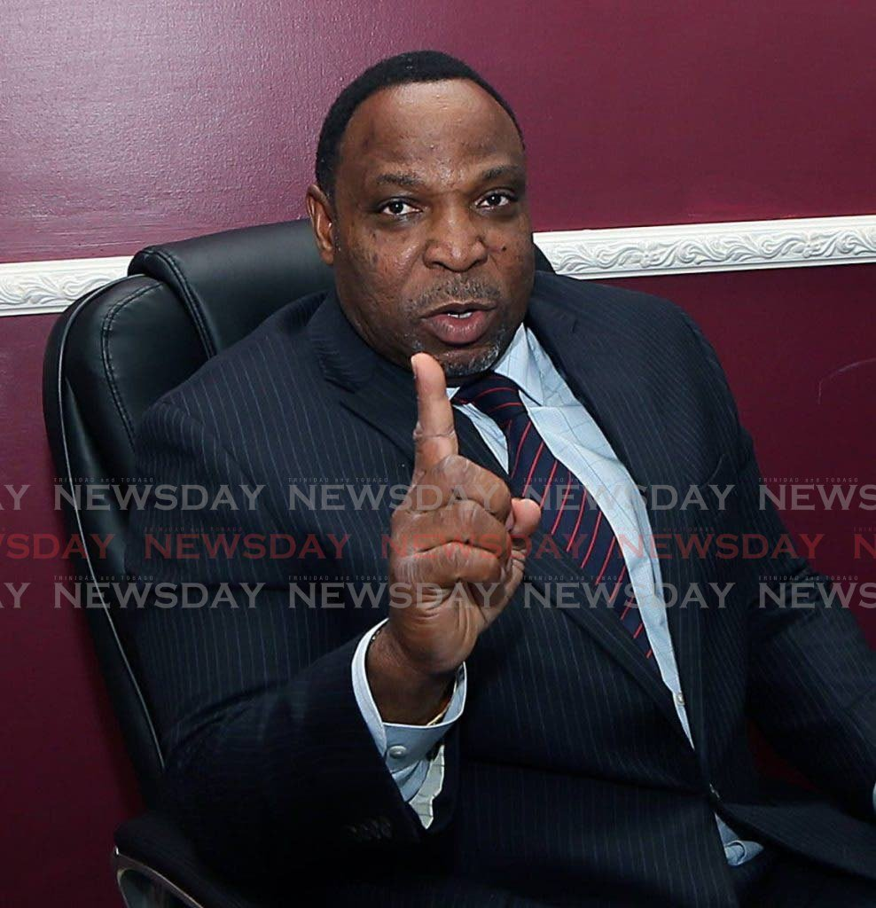 Attorney and PoS South MP Keith Scotland. -