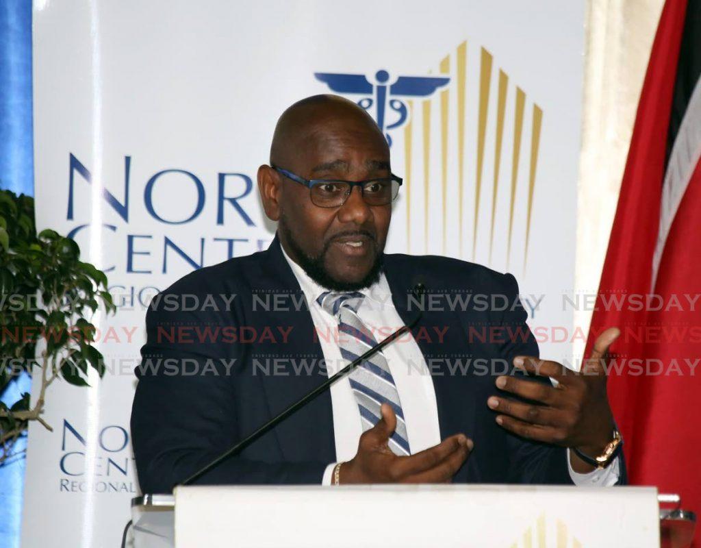NORTH Central Health Authority (NCRHA) CEO Davlin Thomas. - SUREASH CHOLAI