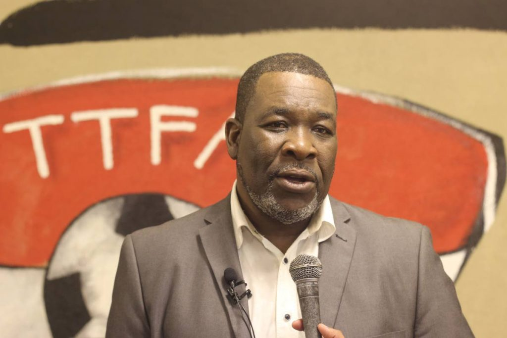 Ousted TTFA president Williams Wallace  -
