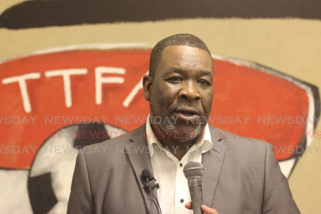 Ousted TT Football Association president Williams Wallace. - Marvin Hamilton