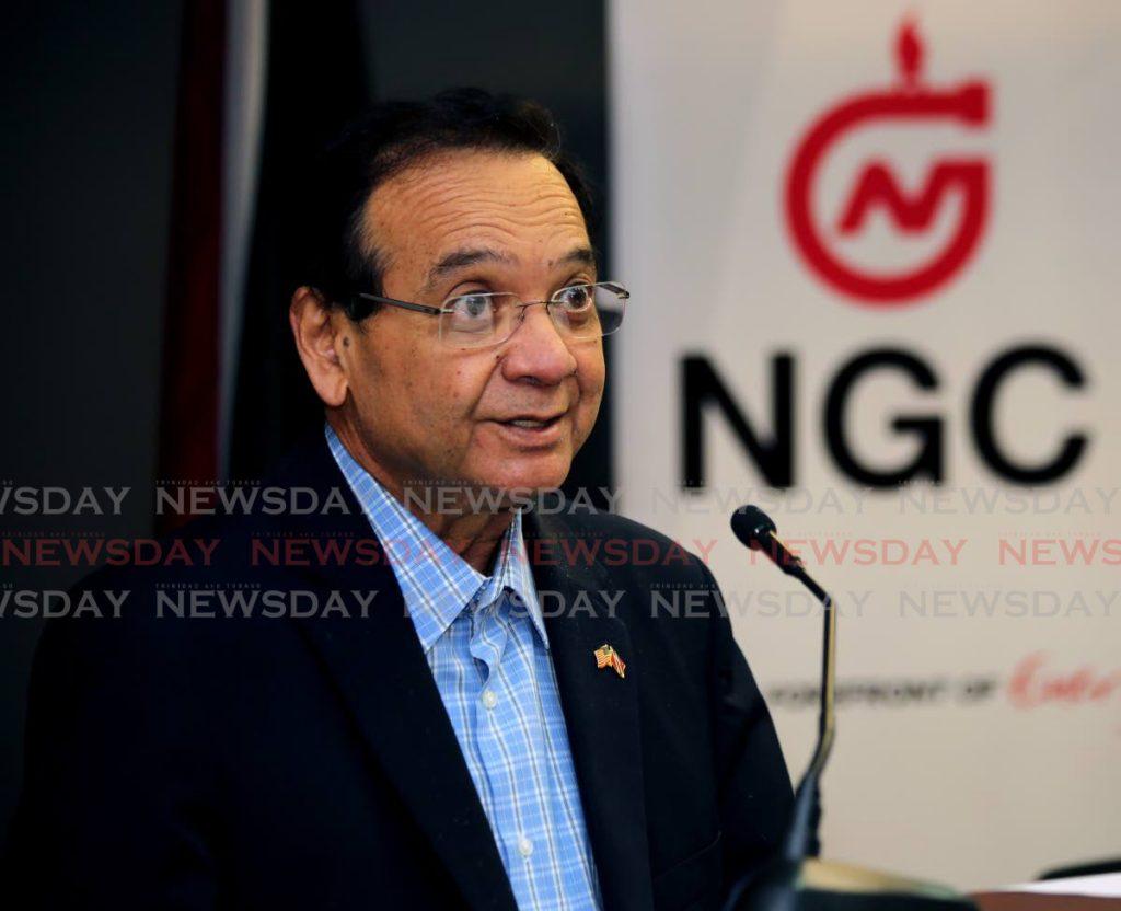 File photo - Energy Minister Franklin Khan.