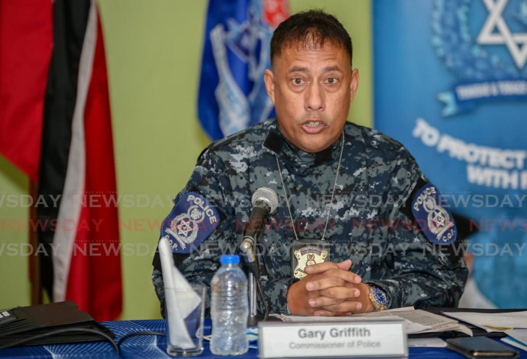 Police Commissioner Gary Griffith.  -