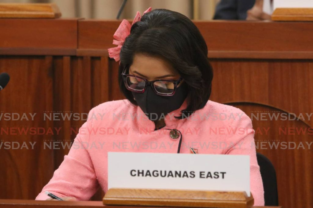 Chaguanas East MP Vandana Mohit - Parliament of T&T