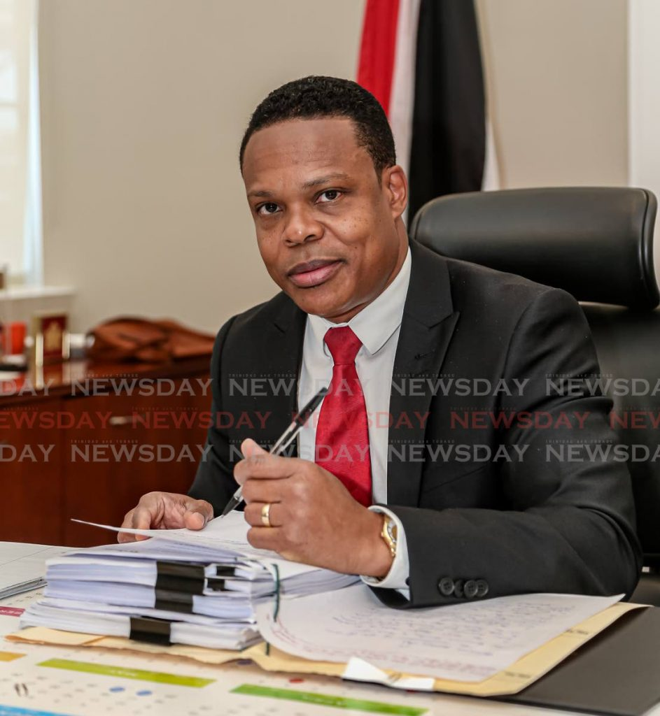 Minister of Foreign and Caricom Affairs senator Amery Browne  - Jeff Mayers
