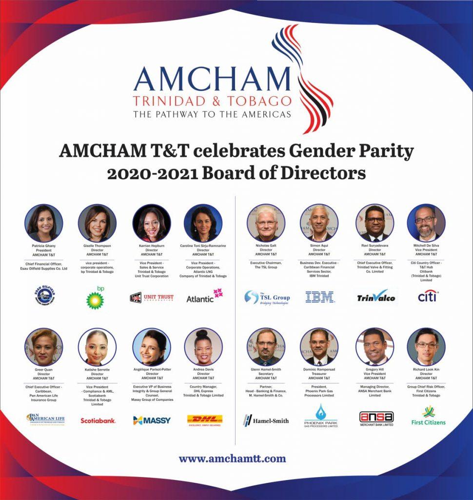 Amcham Board of Directors. Photo courtesy Amcham -