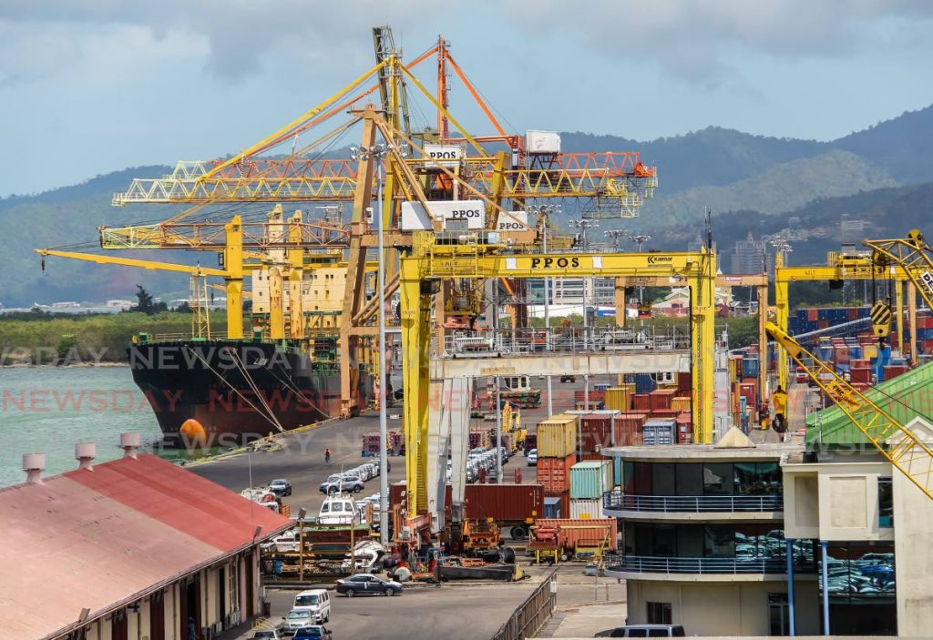 A 2018 file photo of the Port of Port of Spain. Government plans to privatise the operations of the port. PHOTO BY JEFF MAYERS -