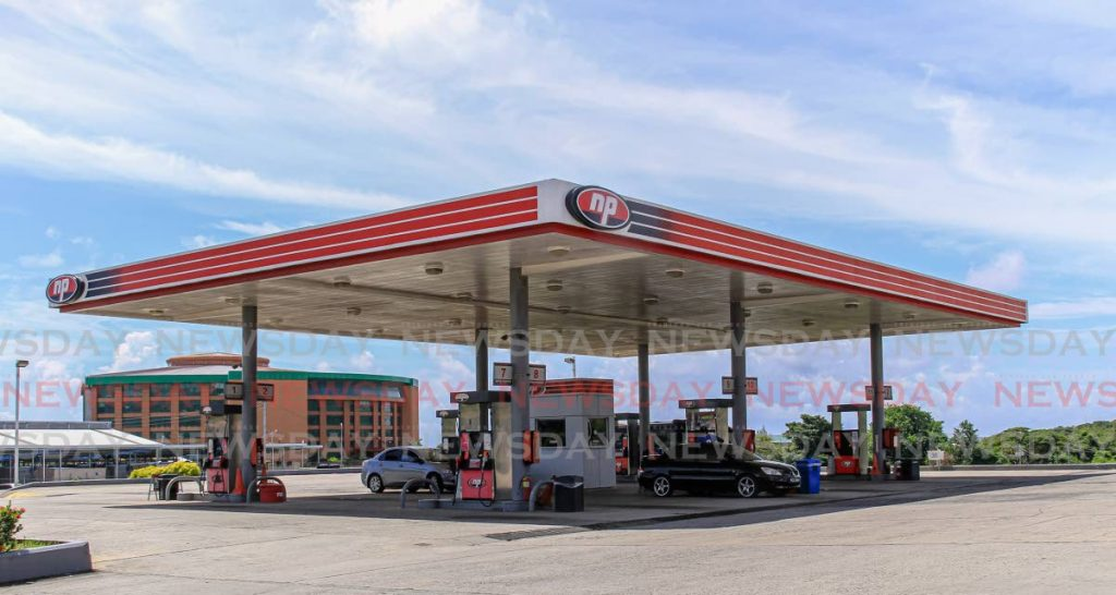 An NP gas station in Scarborough, Tobago. - Ayanna Kinsale