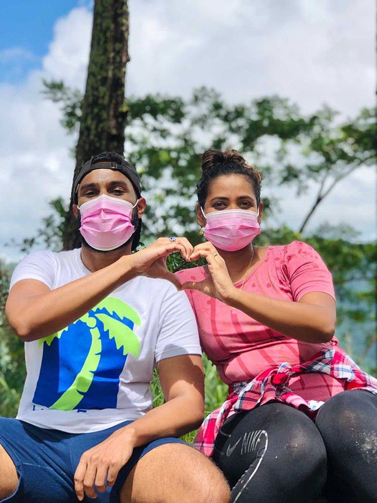 RExTT's pink mask campaign is a way through which the company has sought to make a contribution for breast cancer awareness month. Photo courtesy RExTT -