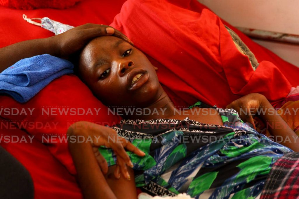Kermika Regis dreams of one days walking again. Two years ago she was left paralysed after suffering a seizure. - ROGER JACOB
