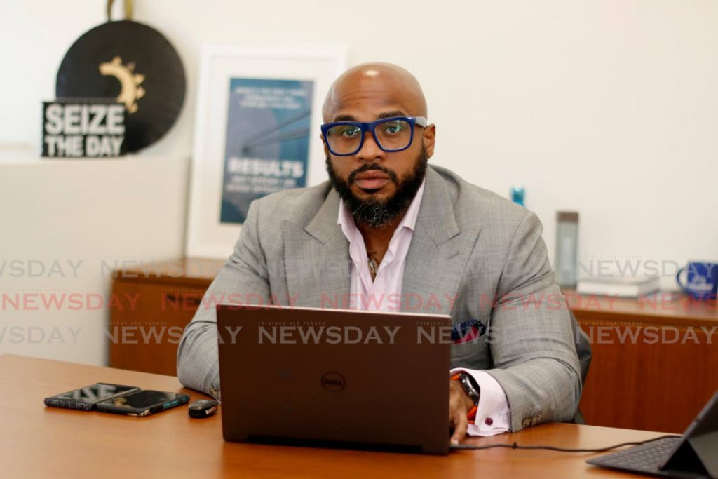 Devon Romero, director of consumer finance affairs at Courts says the company understands the challenges brought by the covid19 pandemic and has new initiatives to assist customers with payments and purchases. - Marvin Hamilton