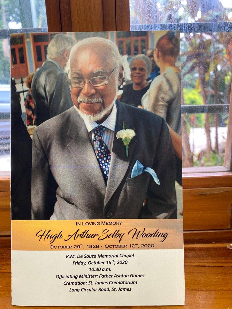 Hugh Arthur Selby Wooding, QC, who died on October 12 at 91. -