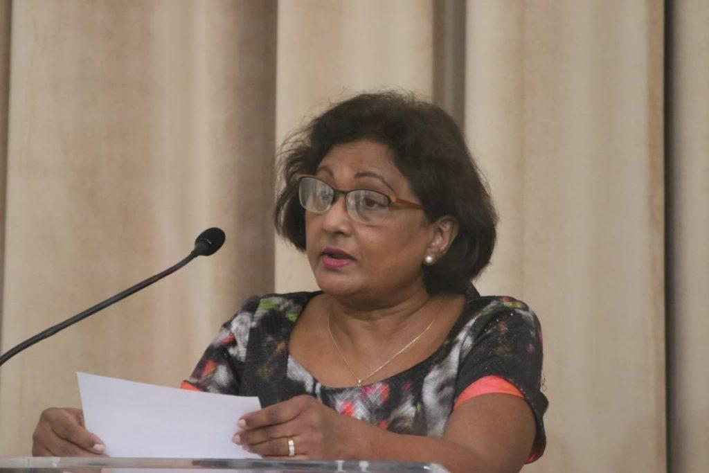 Independent Senator Charrise Seepersad. - TT Parliament