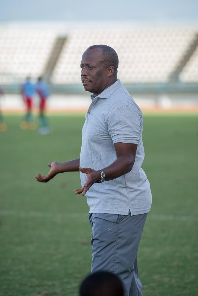 Cunupia FC coach Michael De Four -