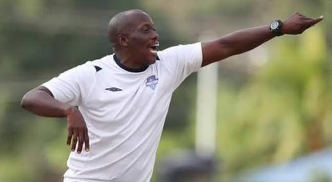 Cunupia FC coach Michael De Four -