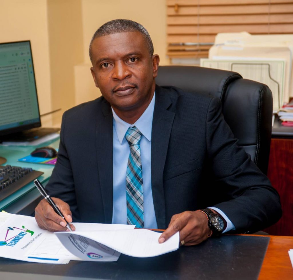 Government recruited TSTT's chief technology officer Hassel Bacchus to be a minister in the Ministry of Public Adminstration and Digital Transformation to help direct its digital policies.    Photo courtesy TSTT -