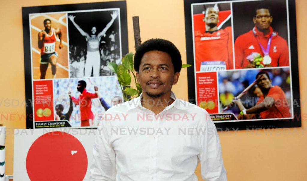 President of the Trinidad and Tobago Olympic Committee (TTOC), Brian Lewis . PHOTO SUREASH CHOLAI -
