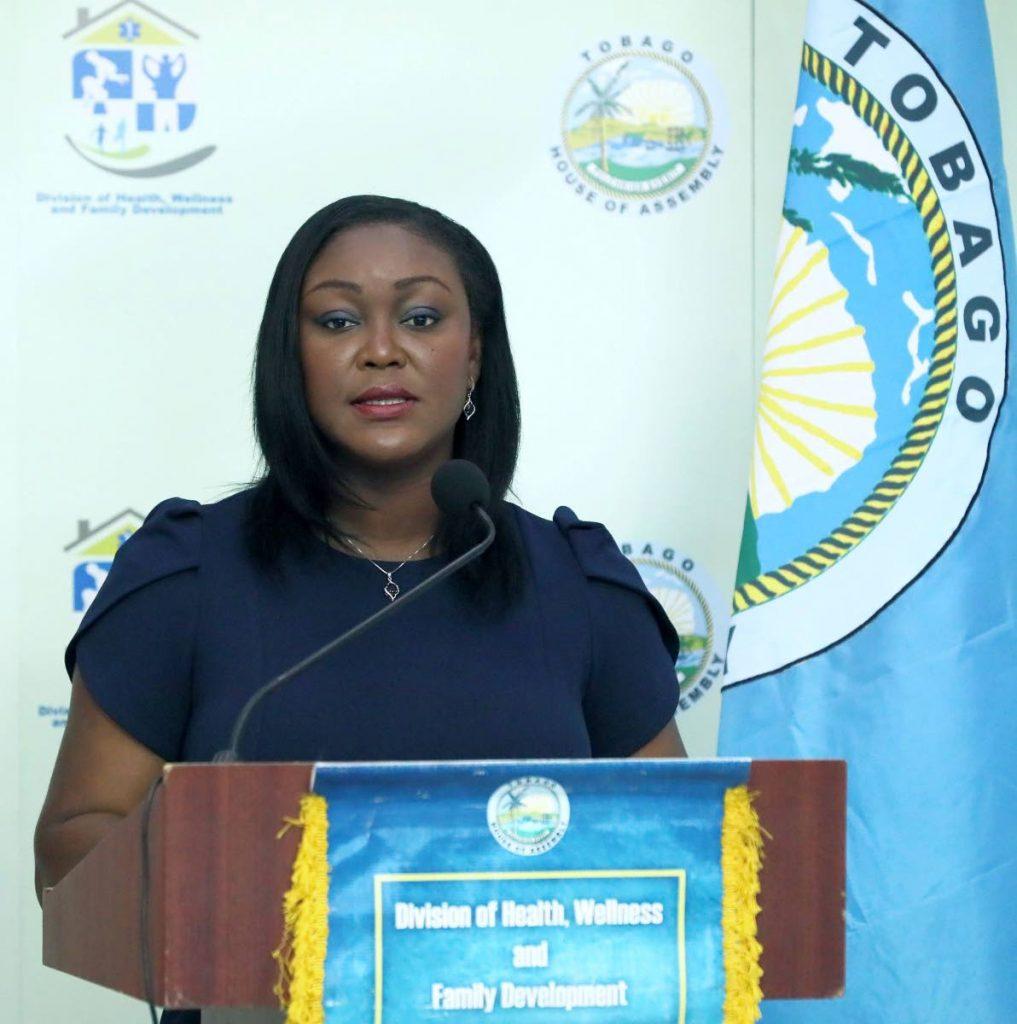 Health Secretary Tracy Davidson-Celestine. PHOTO COURTESY THA -
