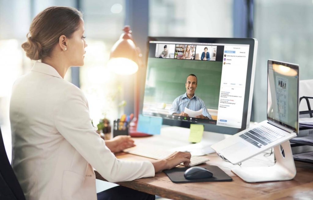 People who have never done so before have now learned to use online meeting apps, or at least join online meetings. Photo taken from blog.zoom.us -