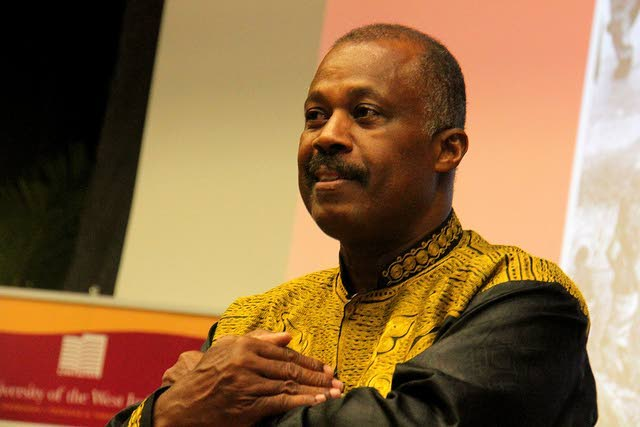The University of the West Indies' Vice Chancellor Professor Sir Hilary Beckles. -