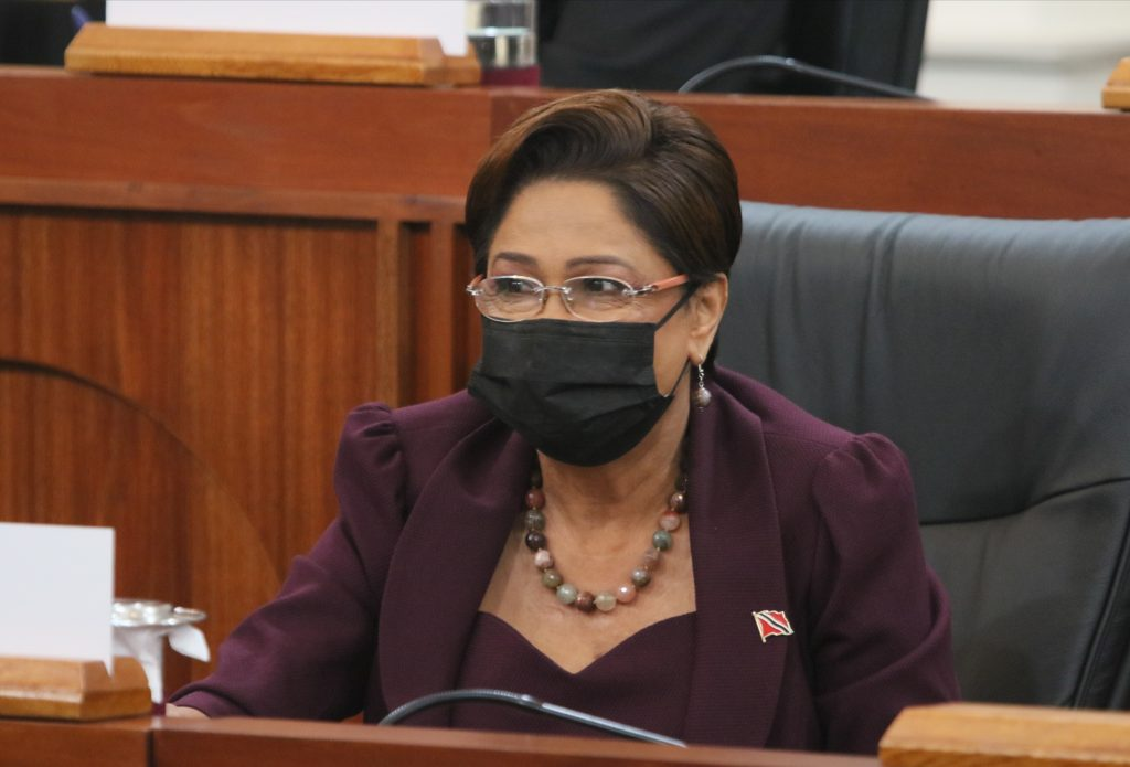 Opposition Leader Kamla Persad-Bissessar    PHOTO COURTESY OFFICE OF THE PARLIAMENT