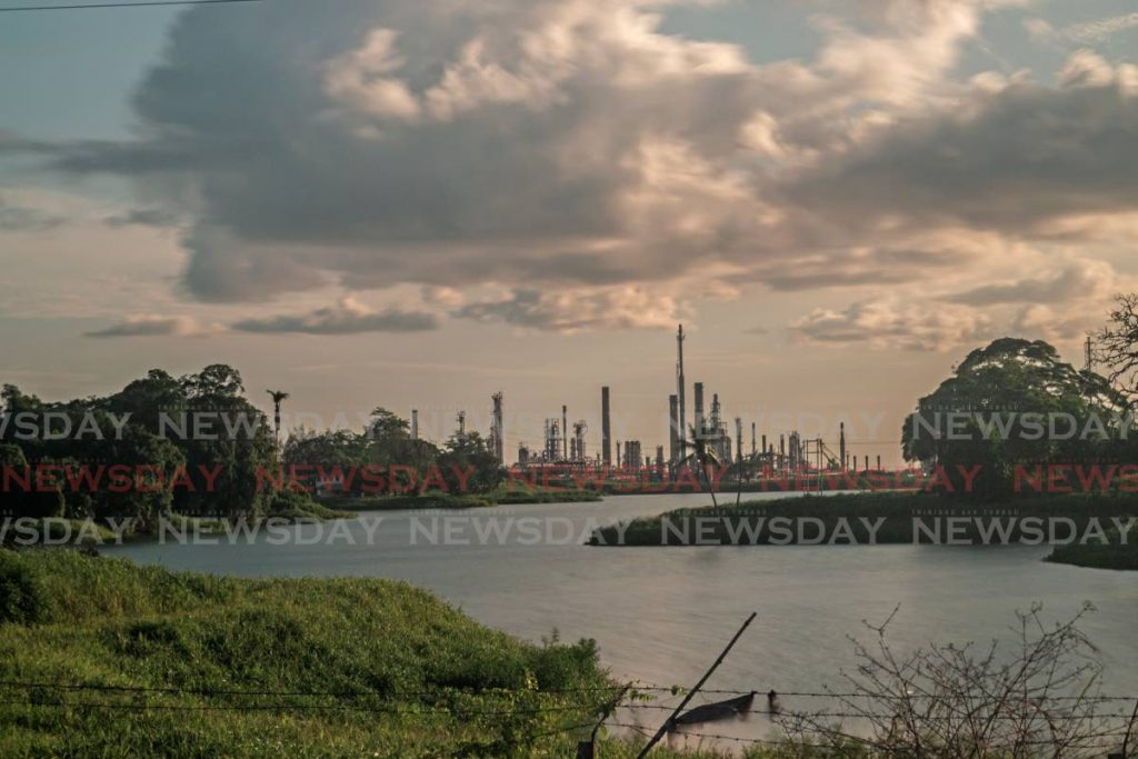 File photo: A view of the refinery along the Guaracara River in Gasparillo. PHOTO BY MARVIN HAMILTON -