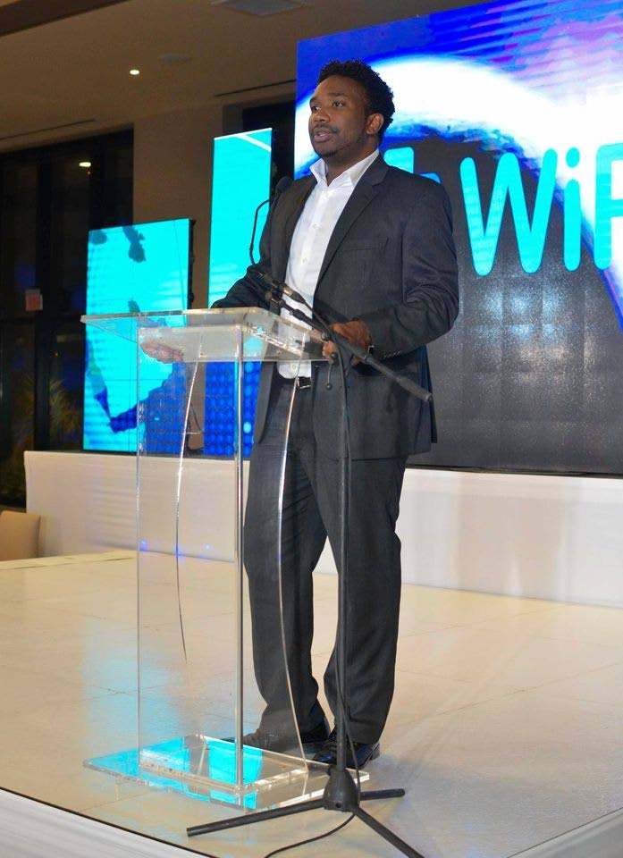 WiPay chief executive officer Aldwyn Wayne. WiPay won the 2018 bmobile Business Technology Award. -