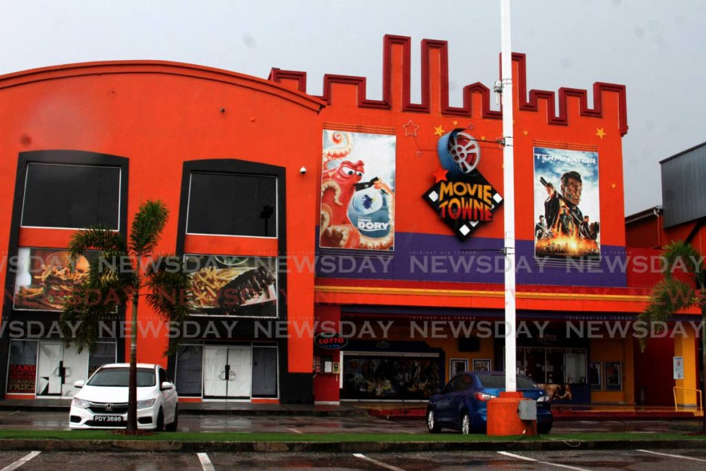 MovieTowne's Price Plaza, Chaguanas branch. - Angelo Marcelle