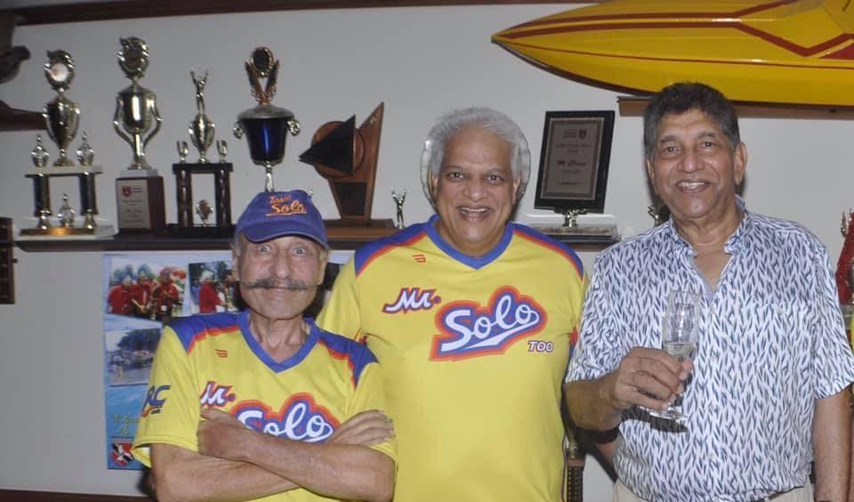Gino Fusco, left, of Mr Solo passed away on Wednesday morning.  - COURTESY ROGER BELL