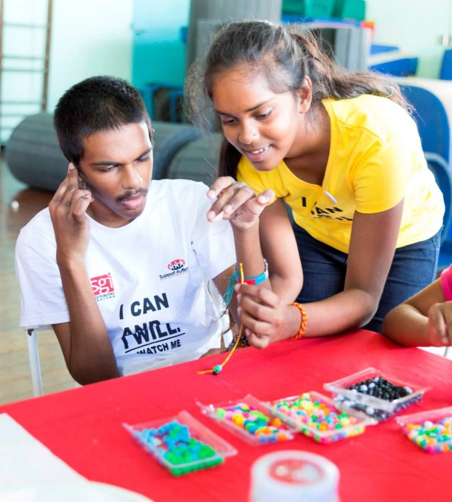 Maya advocates for equal access to opportunities for her brother Rahul, as children with autism are denied some of their basic rights.  Sataish Rampersad  - Sataish Rampersad
