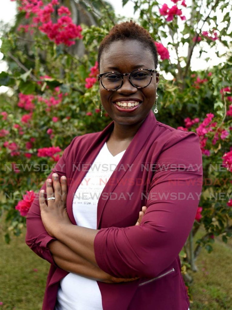 Environmental consultant Sian Cuffy-Young is writing a three-book series for children to teach them how to care for the environment. -