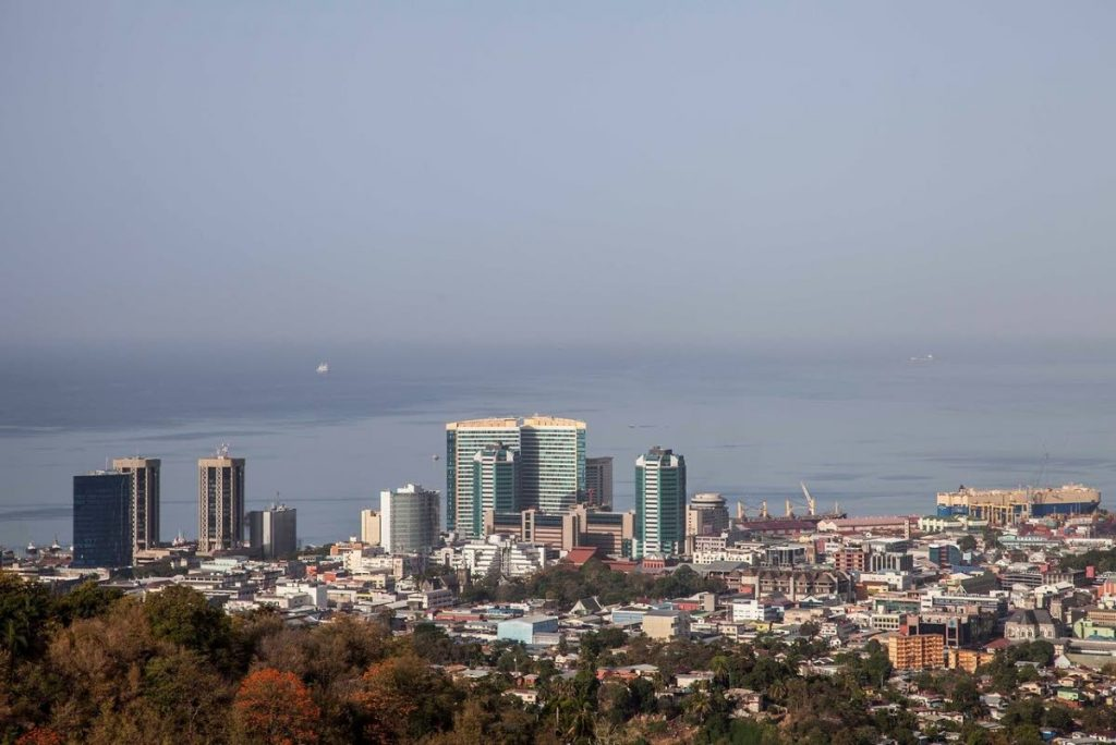 A view of Port of Spain from Laventille the City on the Hill -