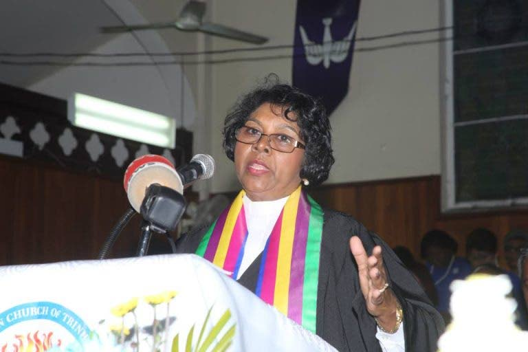 Former moderator of the TT Presbyterian Church Annabell Lalla-Ramkelawan. The minister's brother  Joanas Dukhelin-Lalla, 66, was killed in a Siparia hit-and-run